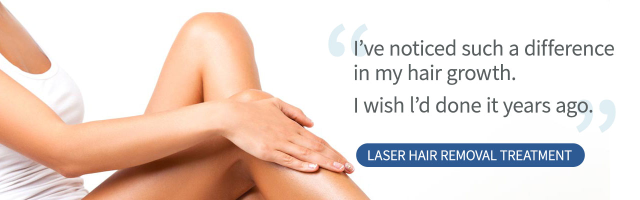 Laser Hair Removal at Laser Life Clinic - West London's best-kept beauty secret.
